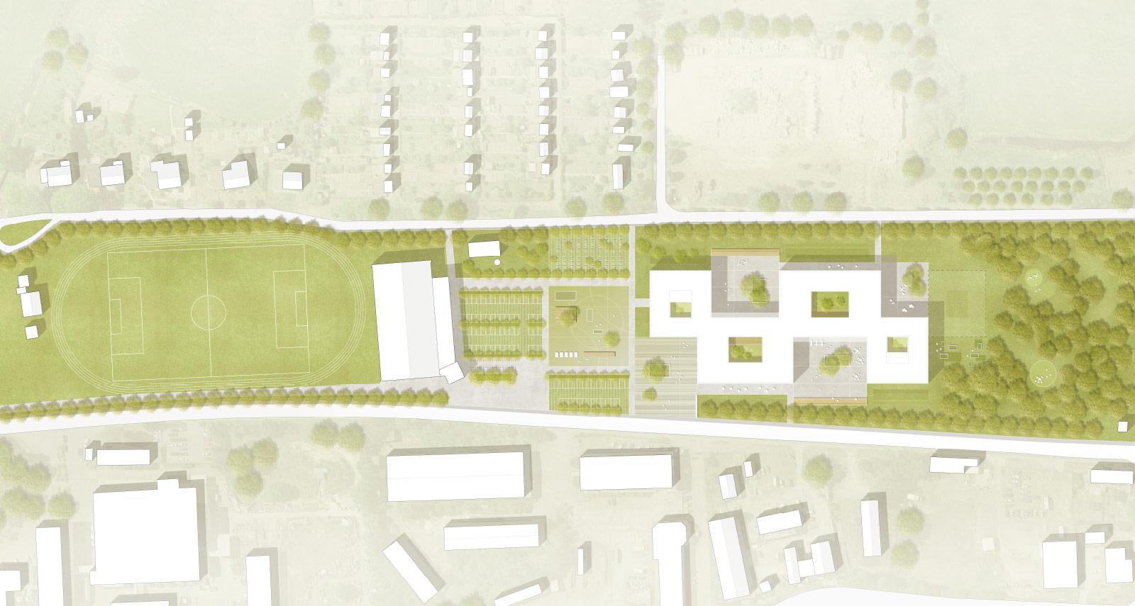 Neubau einer Regionalschule in Bützow