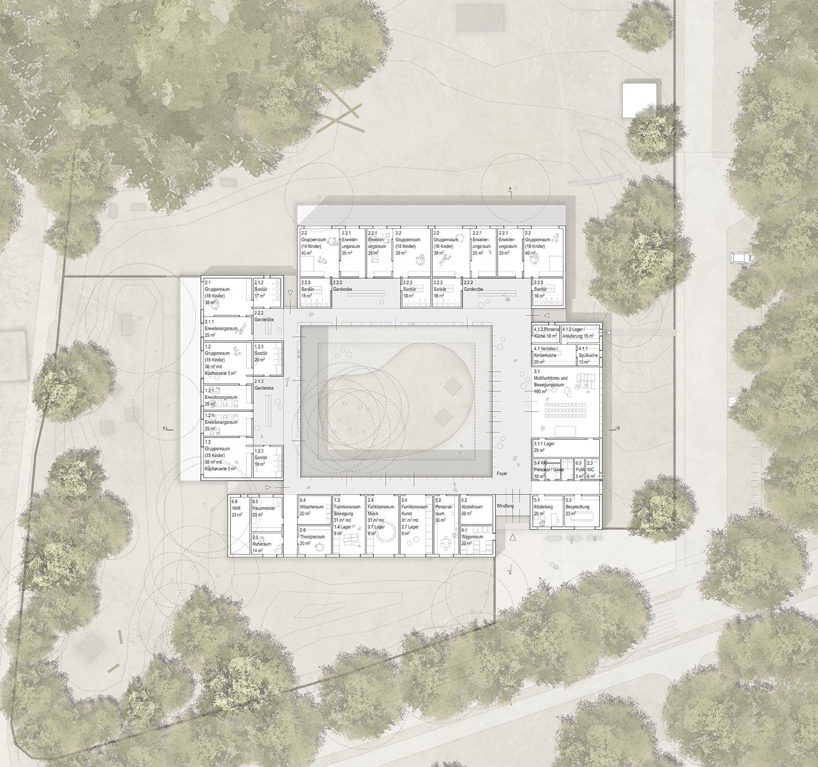 Neubau der Kita Märchenland Wittenberge