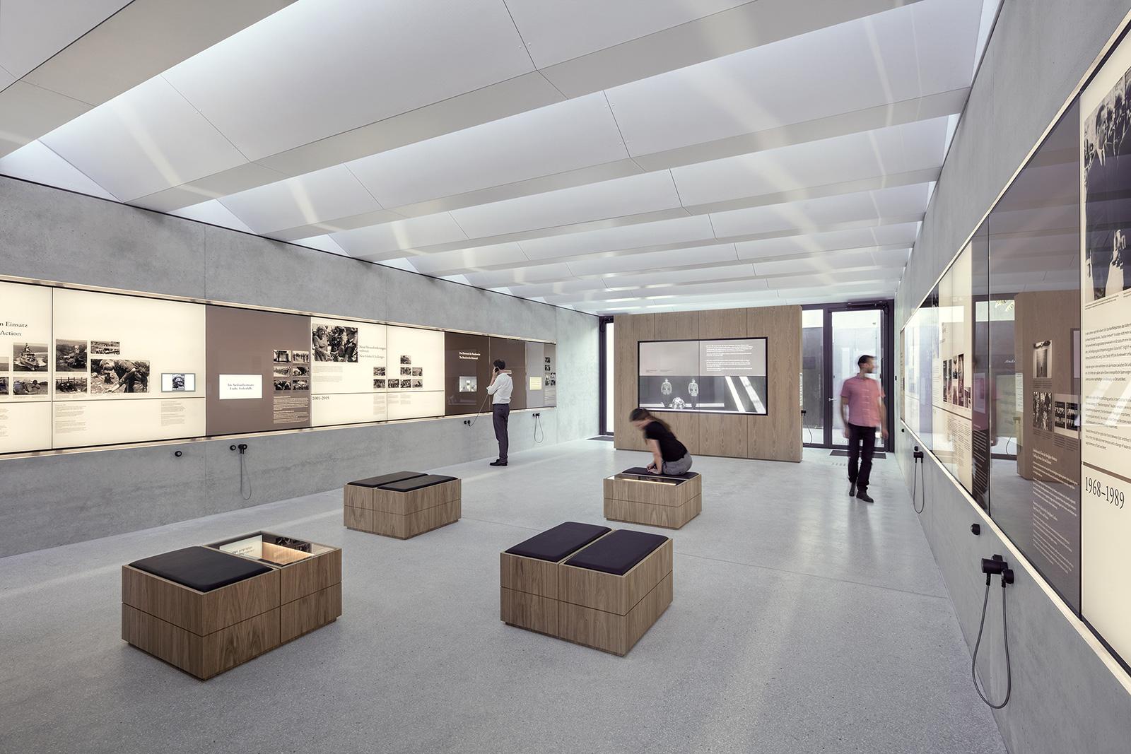 Raum der Information am Ehrenmal der Bundeswehr